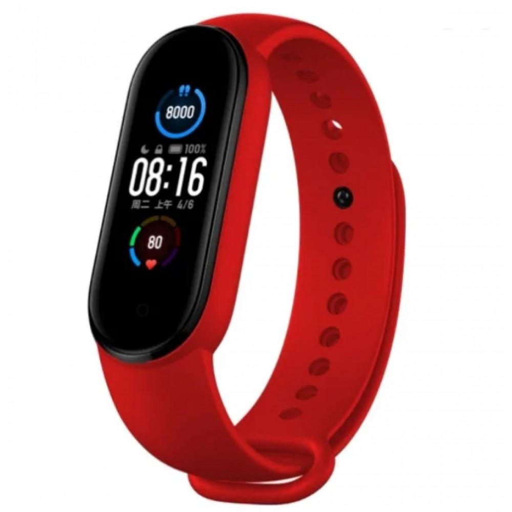 Фитнес браслет Xiaomi Mi Band 5, красный