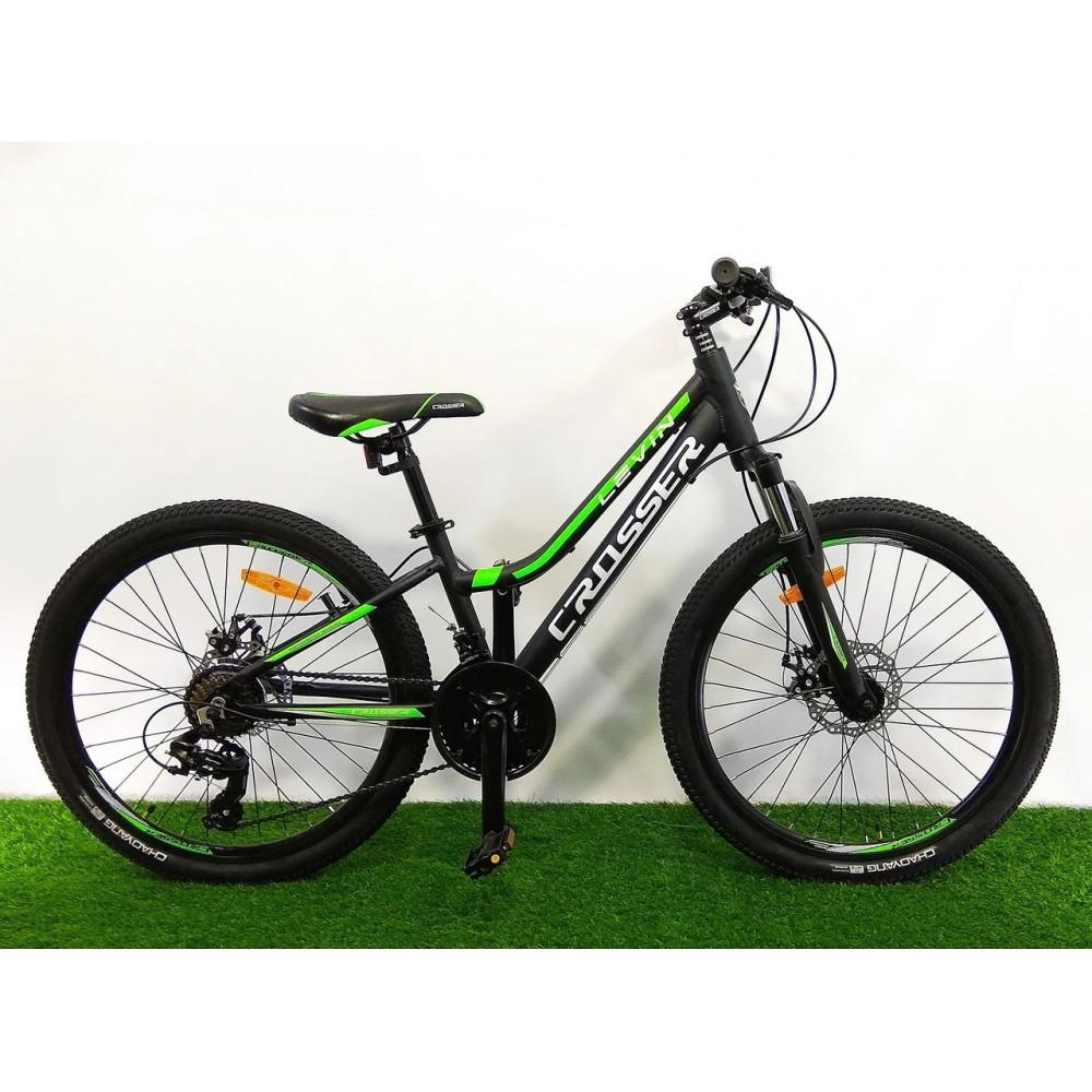 Велосипед для подростков Crosser Levin 24, рама 12