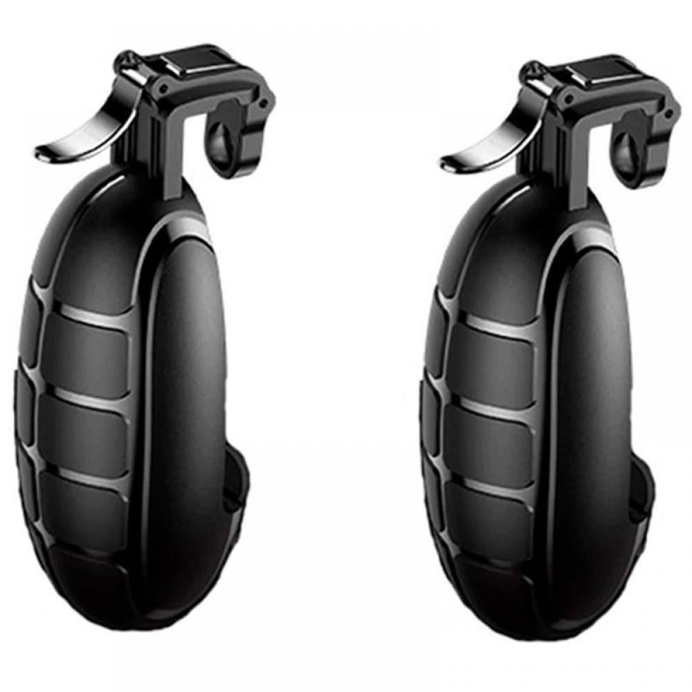 Игровые триггеры, геймпад для телефона Baseus Grenade Handle Black