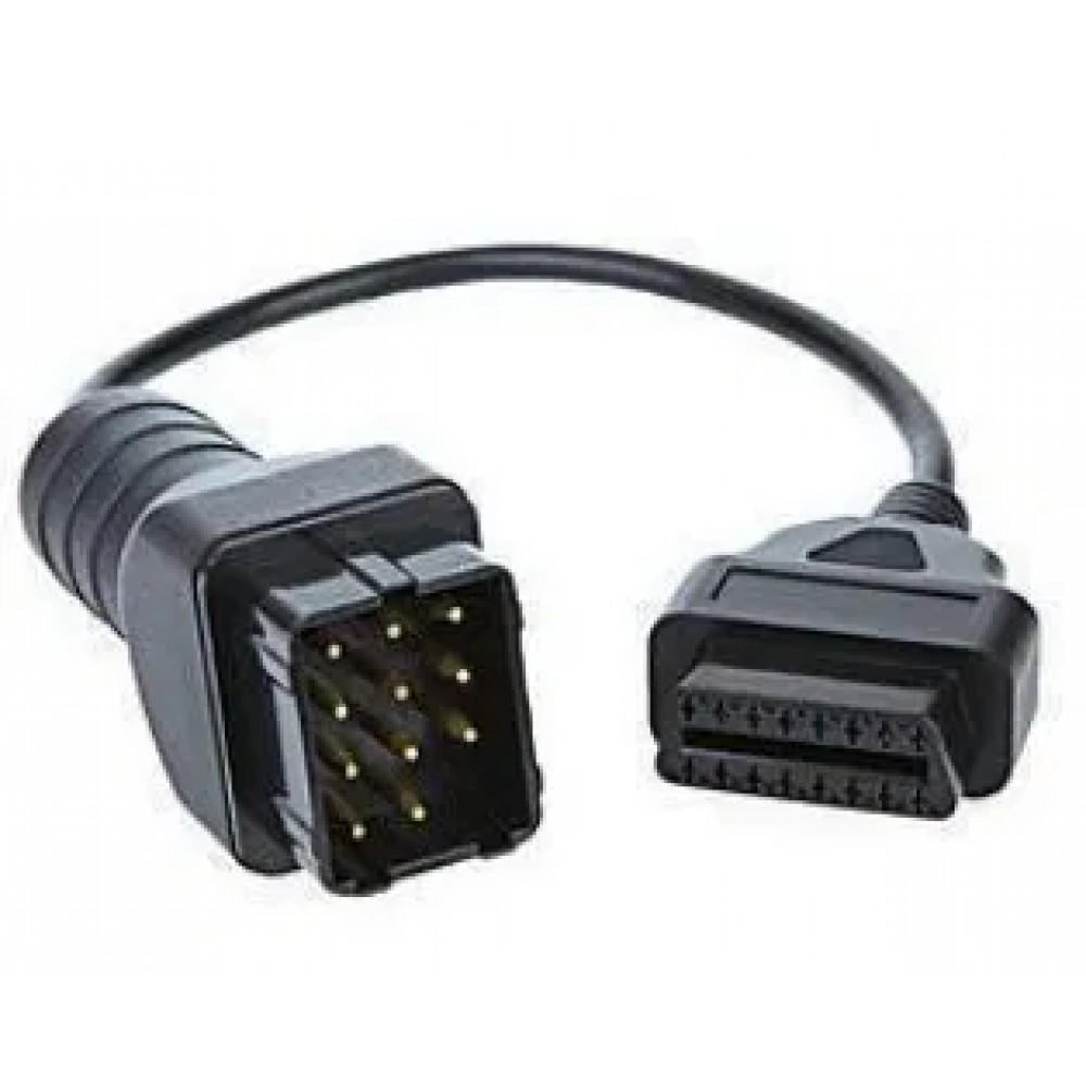 Переходник 12-PIN RENAULT РЕНО на OBD-2 16pin адаптер для сканера