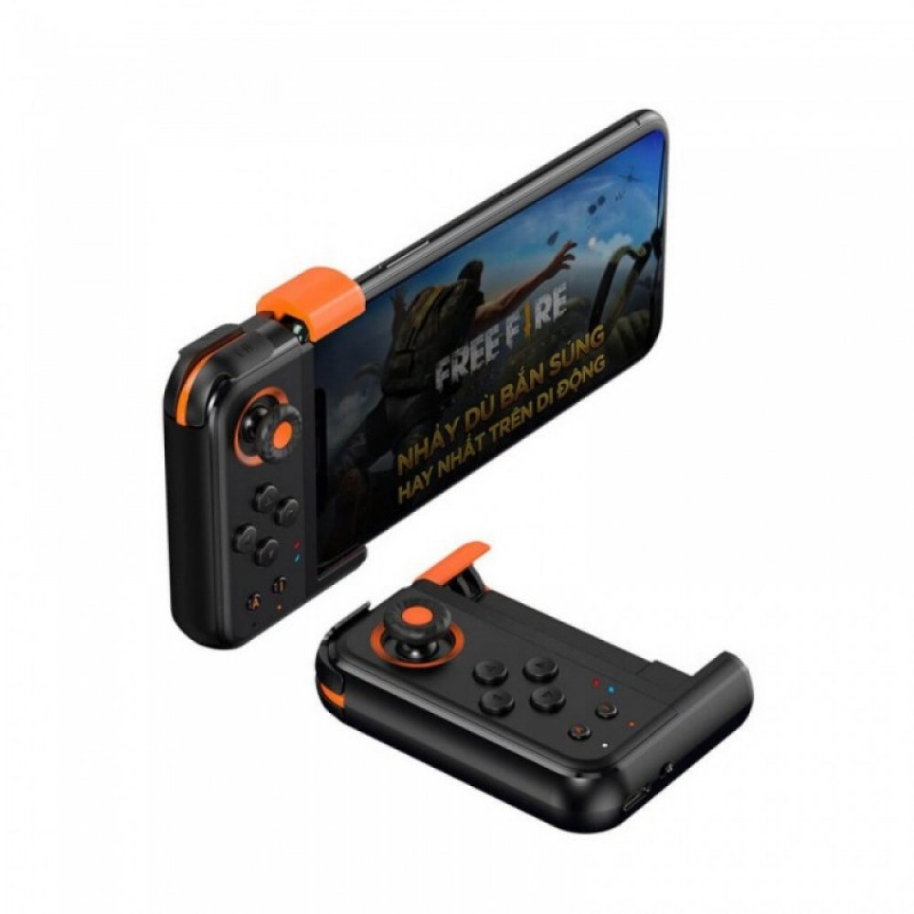 Игровой контроллер Baseus Gamo GA05 Mobile Game One-Handed Gamepad Black