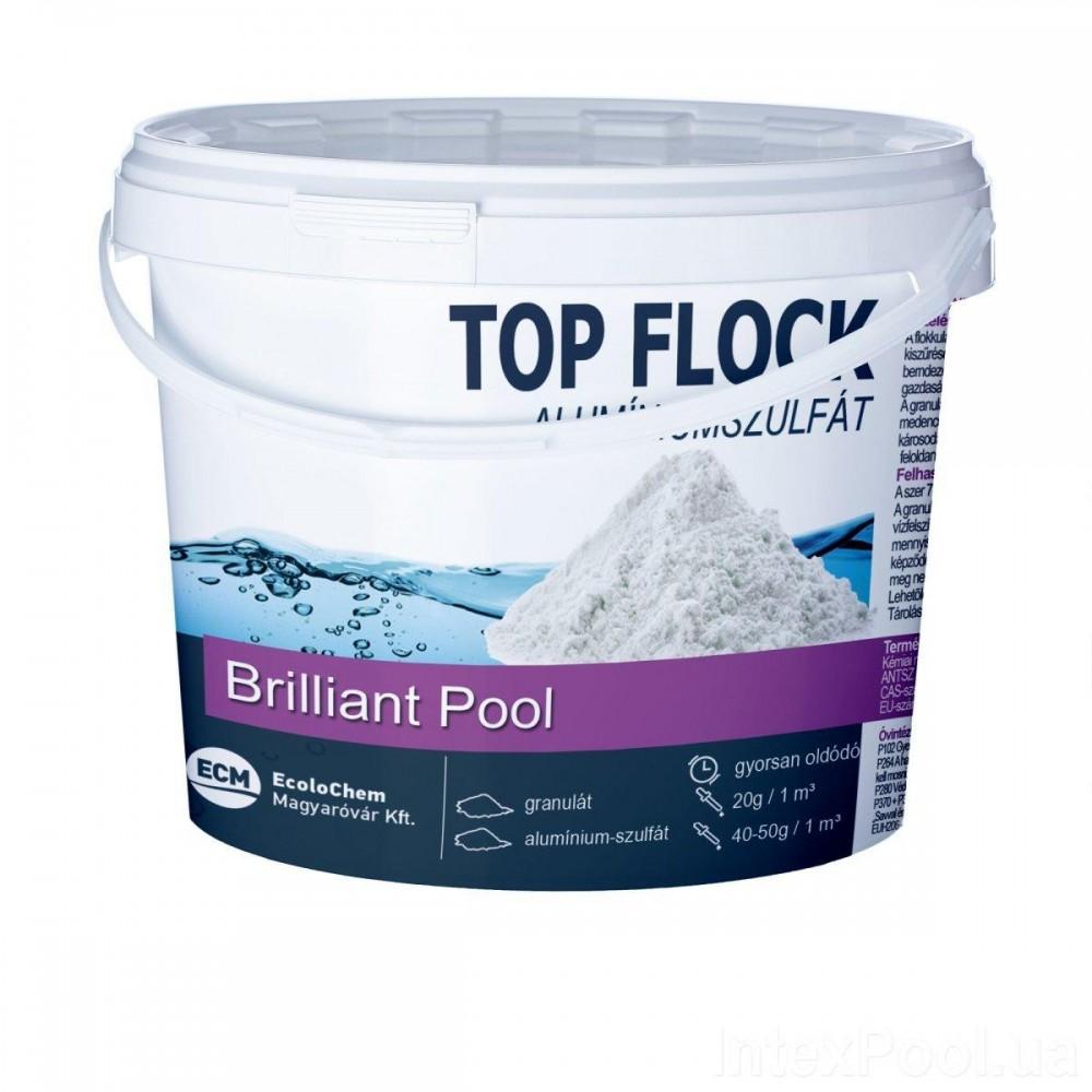Флокулянт (коагулянт, флокер) в гранулах для воды в бассейне 80012 ECM, Венгрия, 1 кг