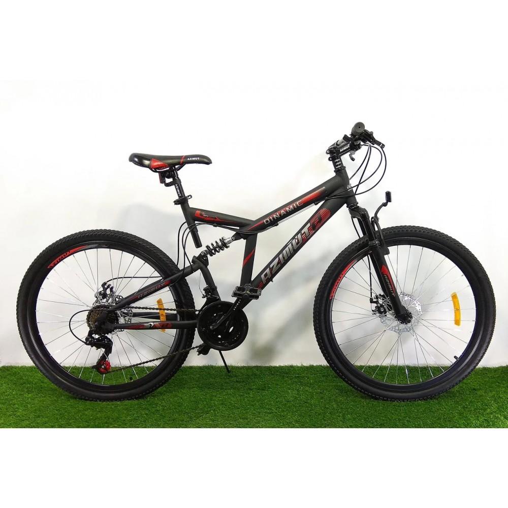 Горный двухподвесный велосипед Azimut Dinamic 26 GD, рама 18,5