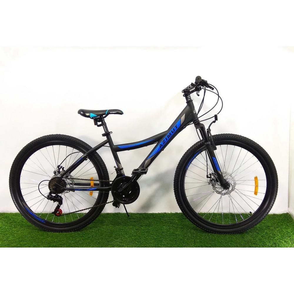 Горный подростковый велосипед Azimut Navigator 24 GD, рама 14