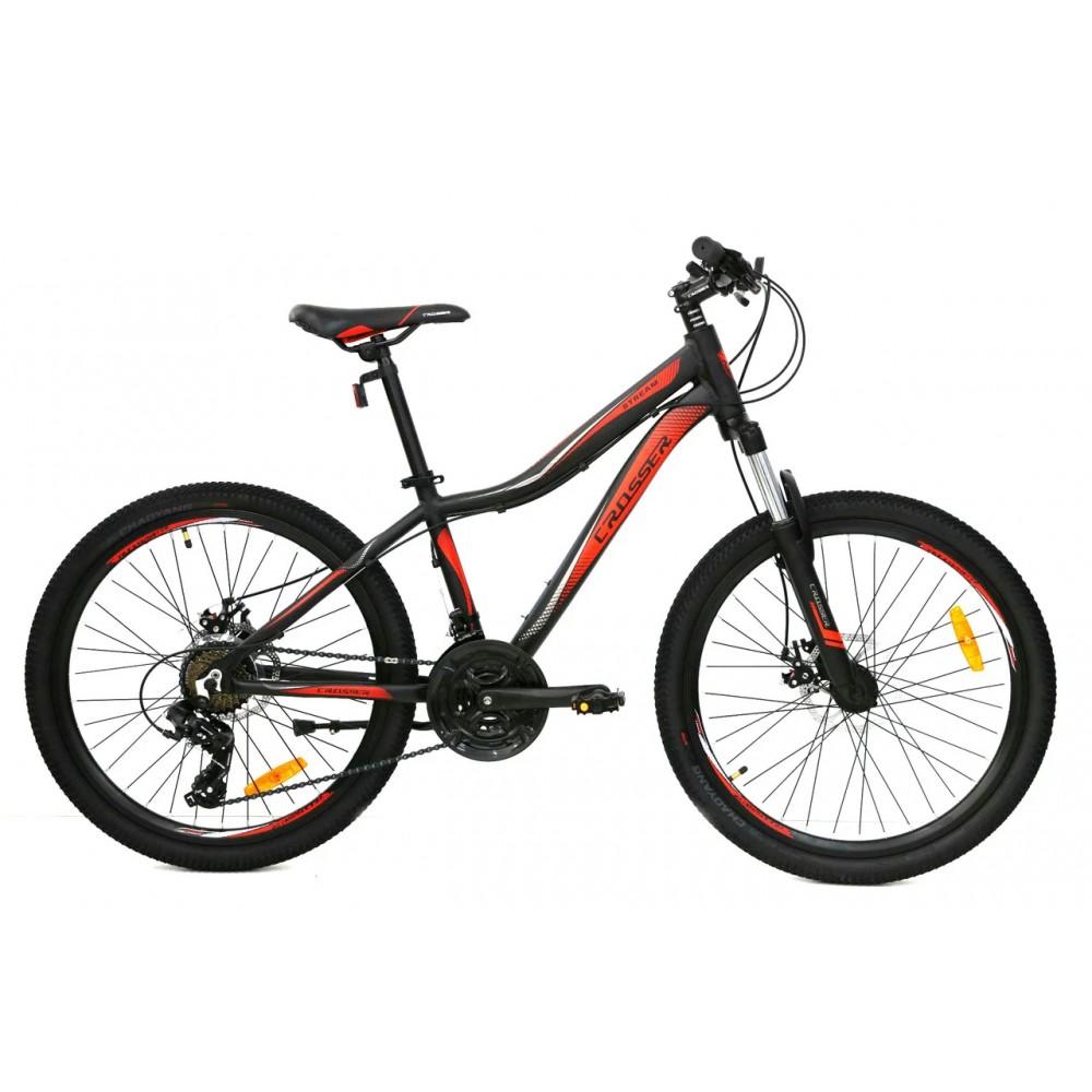 "Горный велосипед Crosser Stream 24"", рама 14"