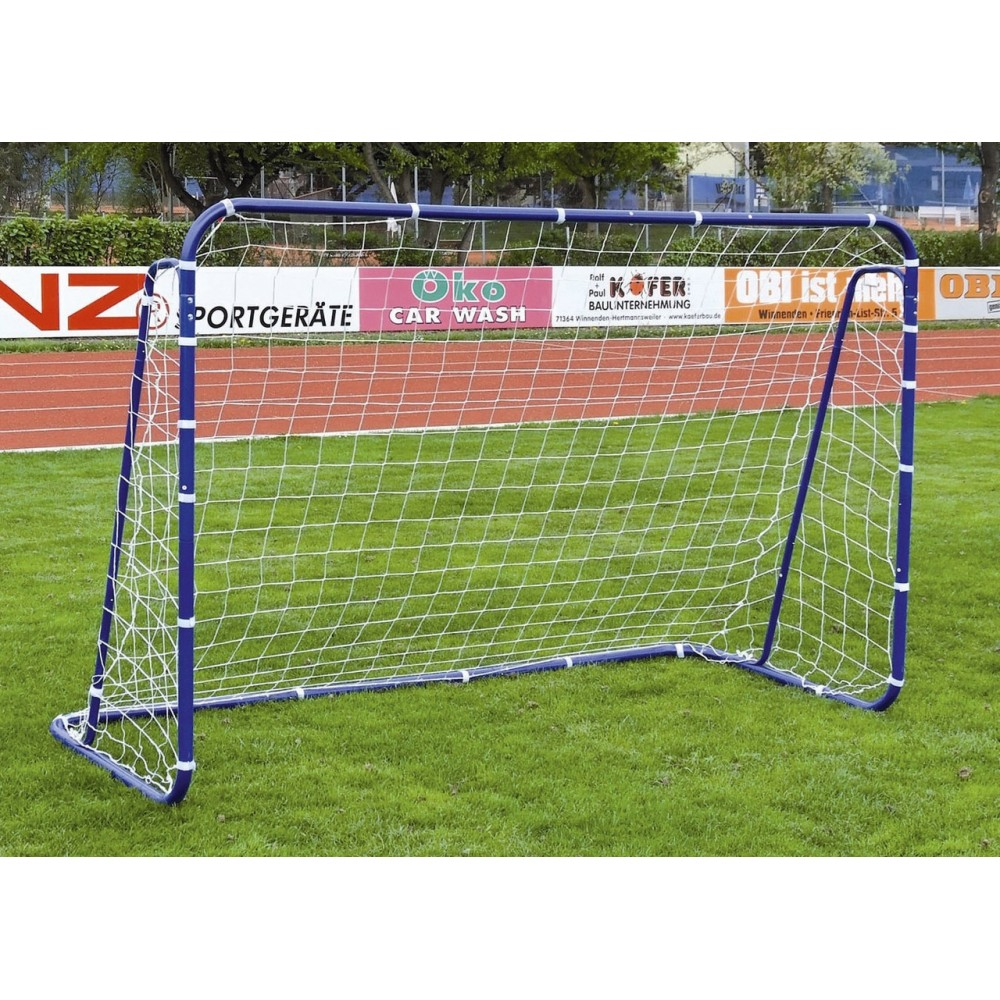 Футбольные ворота Spartan цвет синий, металлические