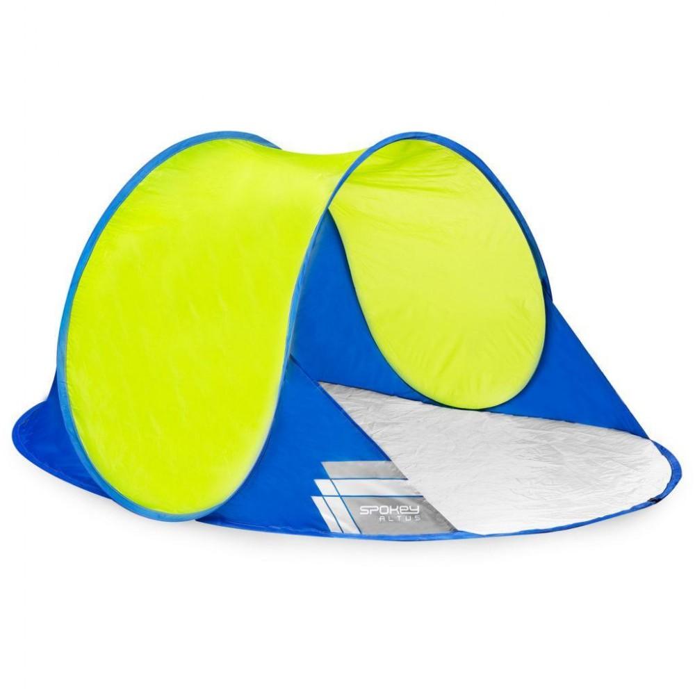 Палатка пляжная Spokey stratus желто-синяя 195X100X85 см