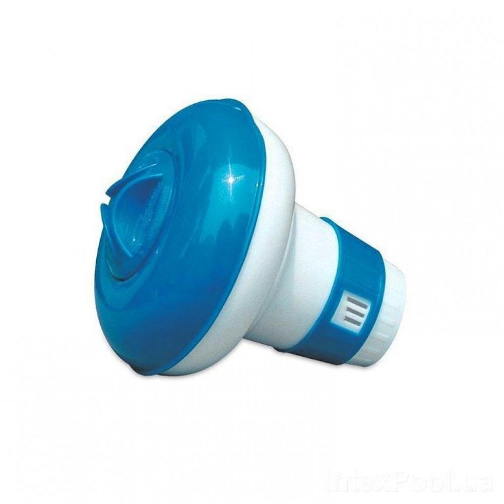 Поплавок дозатор Intex 29040 (58210) для химии, маленький
