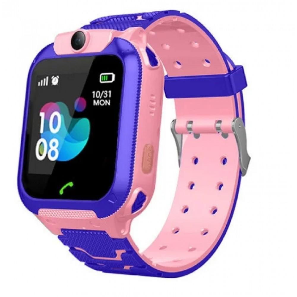 Детские умные smart часы с GPS TD07S с камерой, розовые