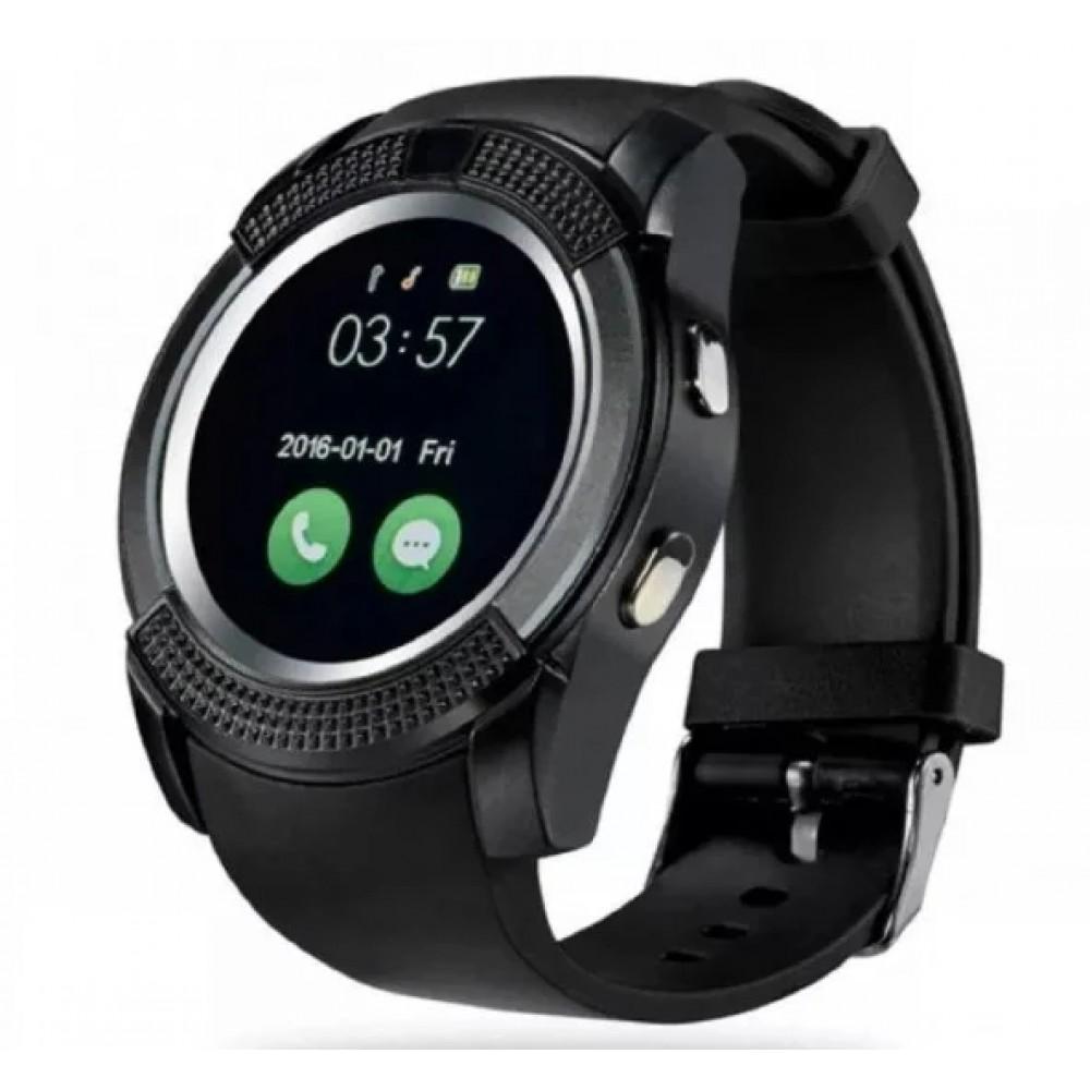 Умные часы Smart Watch V8 Черные Оригинал