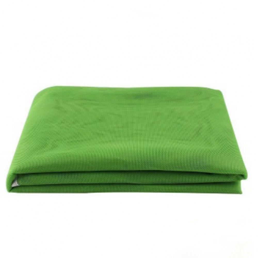 Пляжный коврик анти песок Sand Mat 150 см, зеленый
