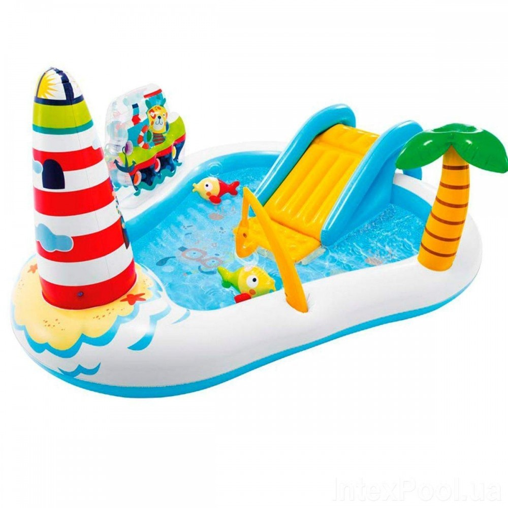 Надувной игровой центр Intex «Веселая Рыбалка», 57162