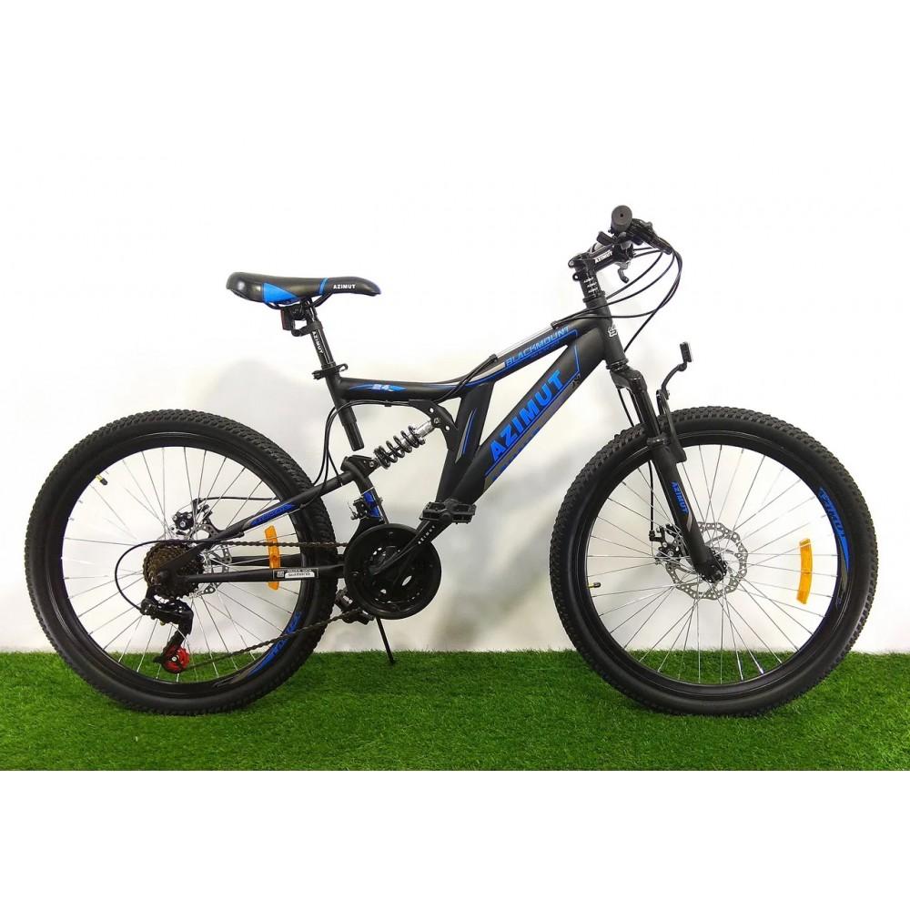 Горный велосипед Azimut Blackmount 24 D+ 2021, рама 16