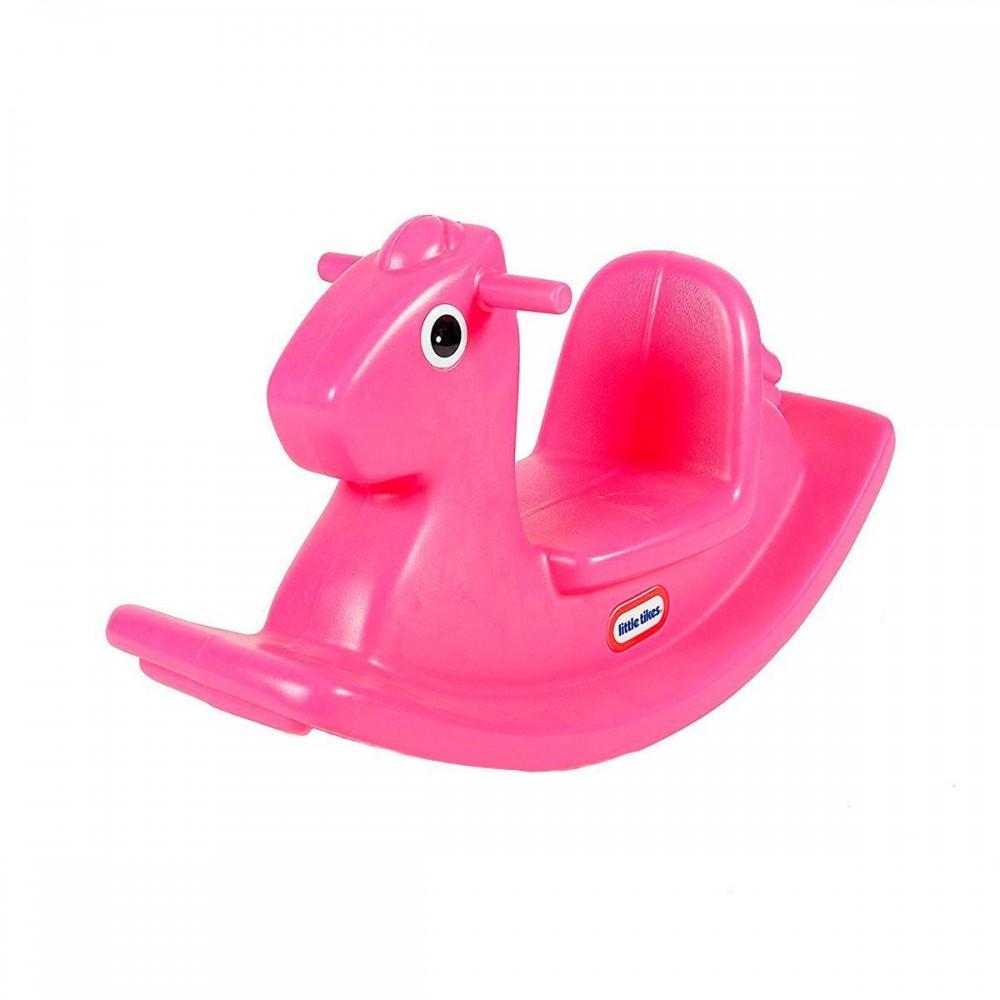 Качалка Веселая лошадка Little Tikes, розовая