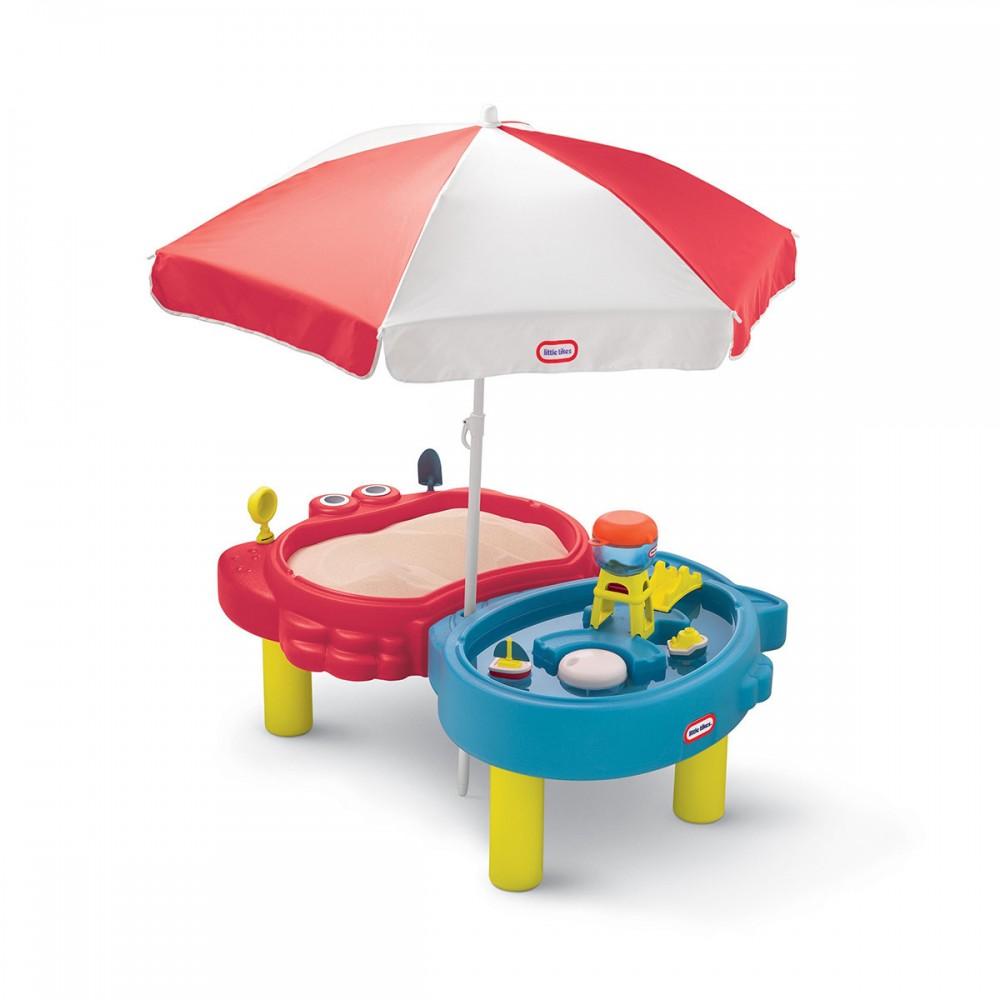 Игровой комплекс с песочницей и столом Little Tikes Тихая гавань