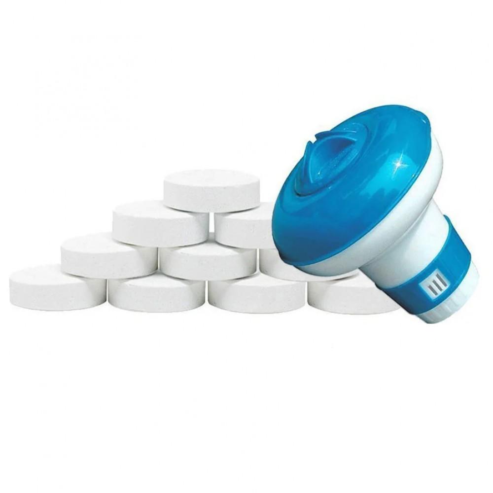 Химия для бассейна «Аква Старт 2в1» IntexPool 80009