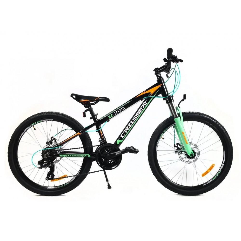 """Подростковый велосипед Crosser Boy 24"""", рама 11,8"""