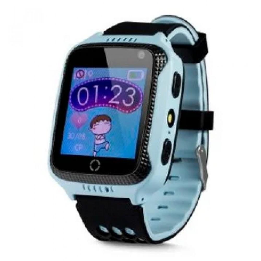 Детские часы с GPS трекером Smart Q528 Blue