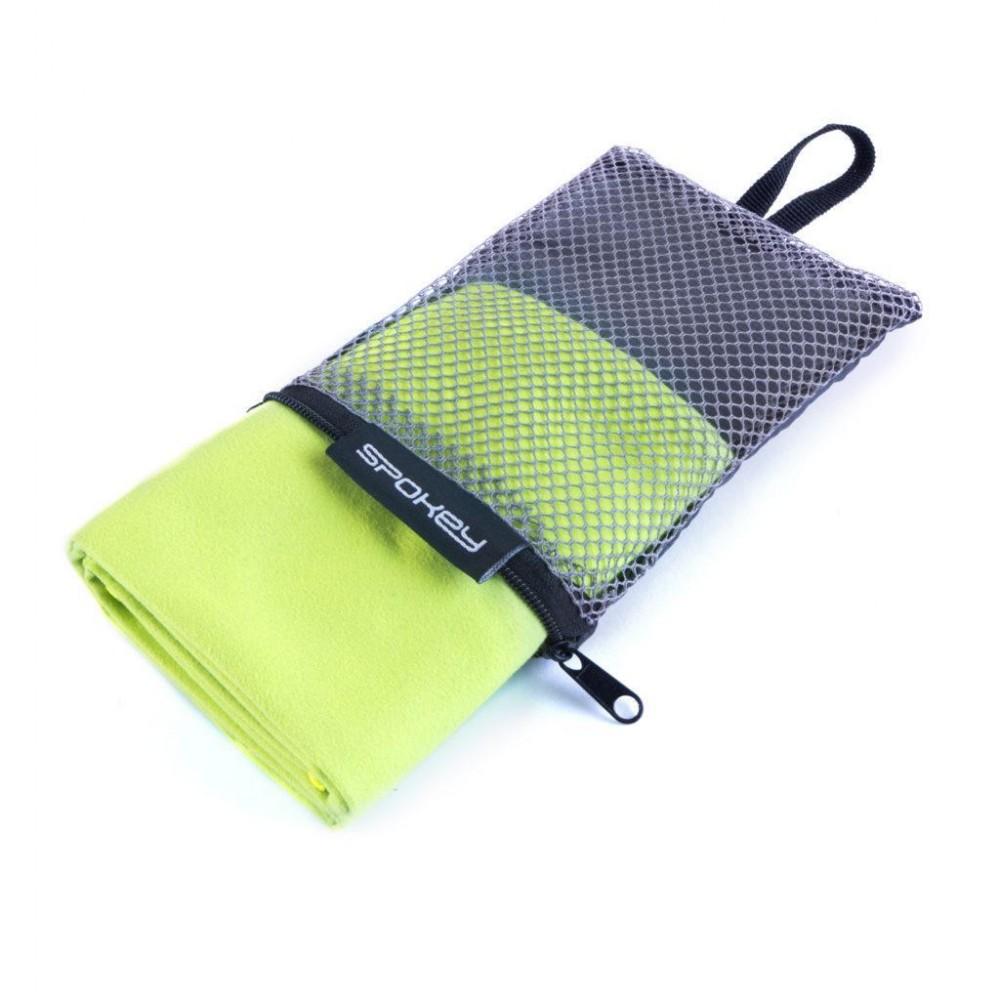 Охлаждающее пляжноеспортивное полотенце Spokey зеленое 40Х80