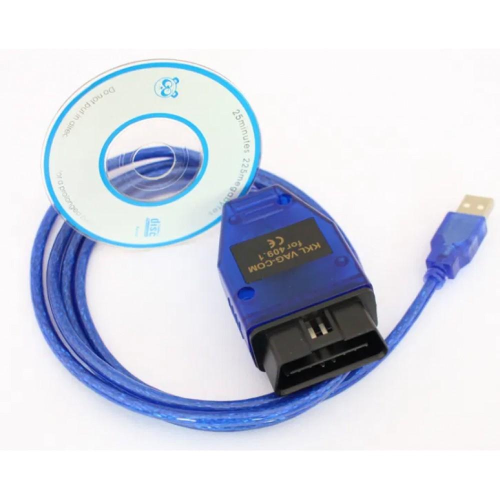 Авто сканер KKL USB VAG COM 409.1 K–Line VW,Audi СН340