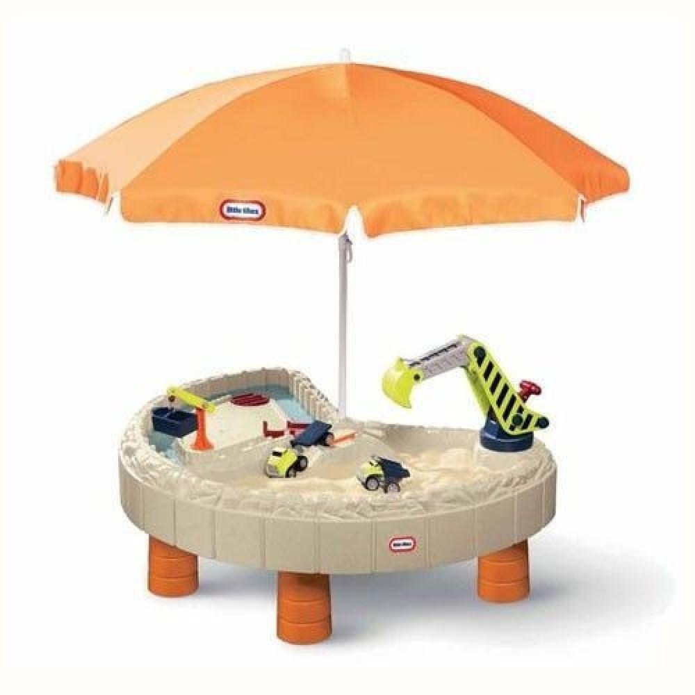 Песочница-стол Веселая стройка Little Tikes, для песка и воды, с аксессуарами