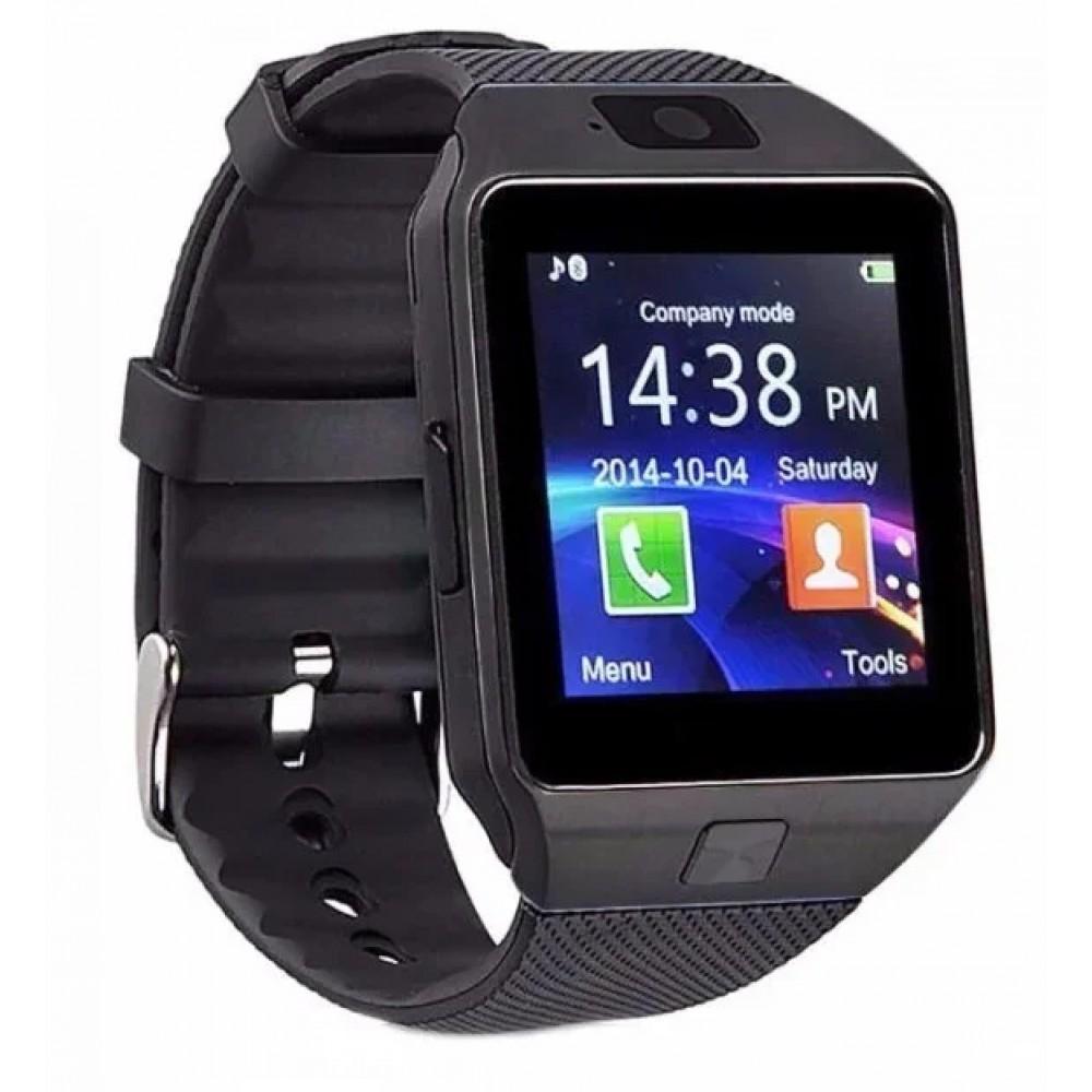 Умные часы Smart DZ09 с камерой Black
