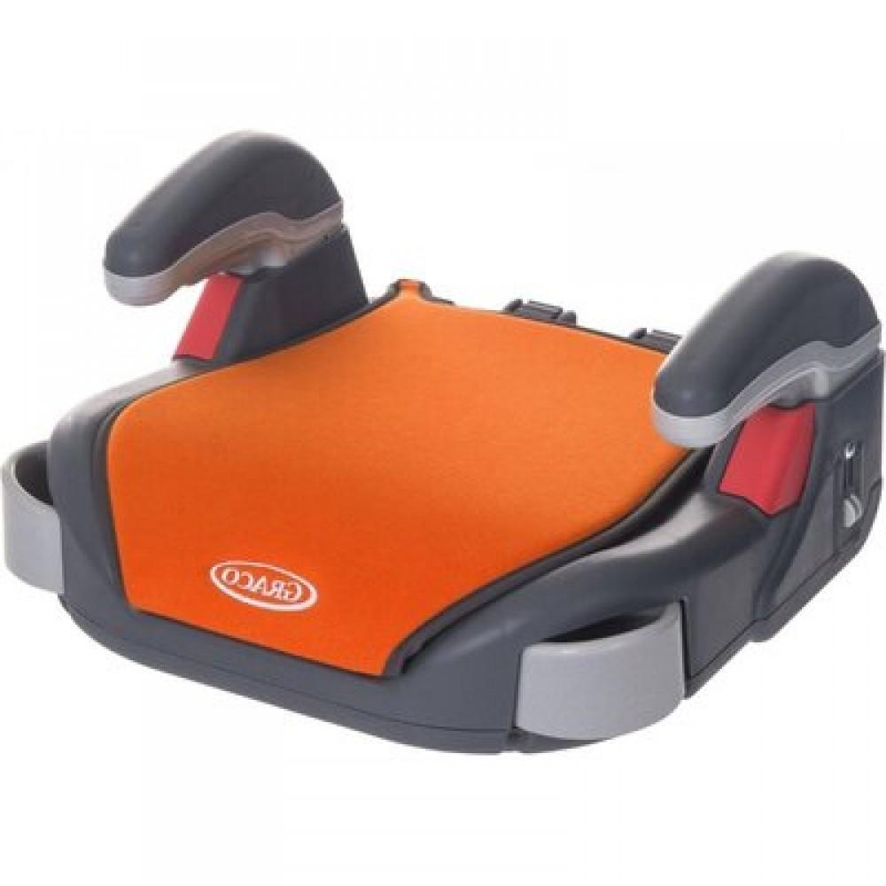 Детское автокресло-бустер Graco Booster orange