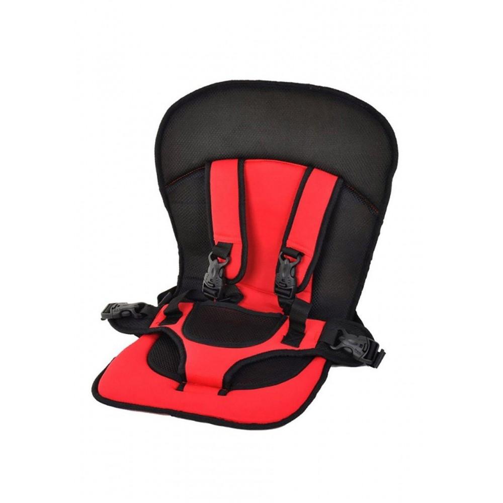Детское автокресло бескаркасное Avtobebi 9 - 36 кг I, II и III категории red