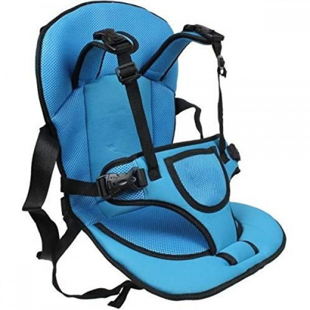 Детское автокресло бескаркасное кресло безопасности blue
