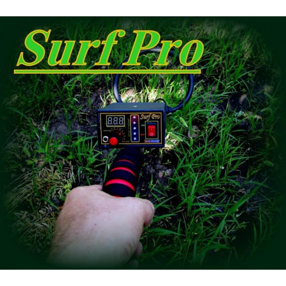 Металлоискатель импульсный Surf Pro, глубина 1,8-3 м