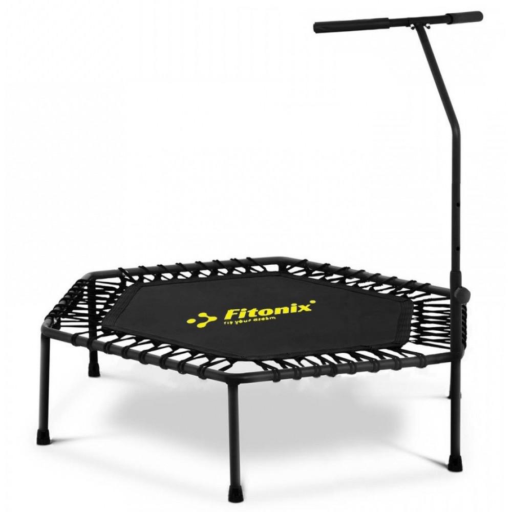 Батут фитнес Fitonix 132 см черный
