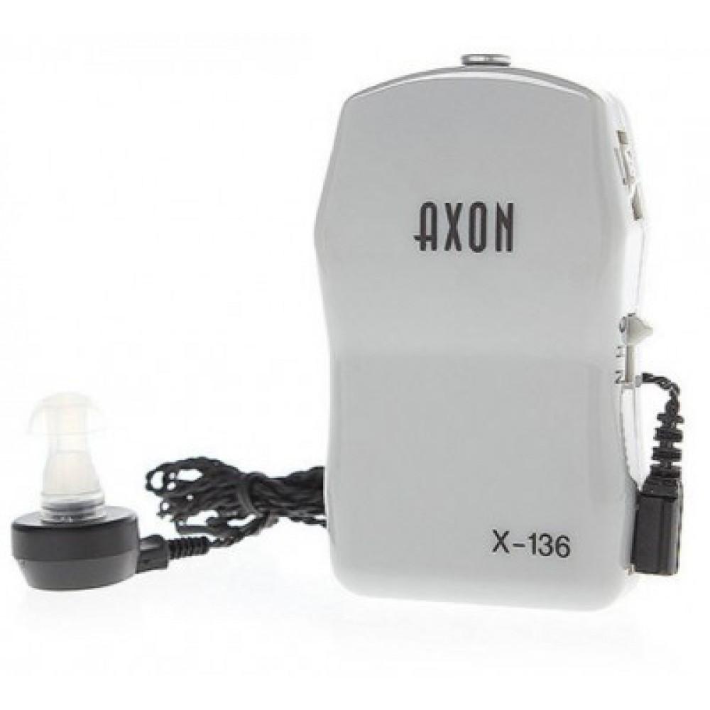 Слуховой аппарат Axon X-136 карманный