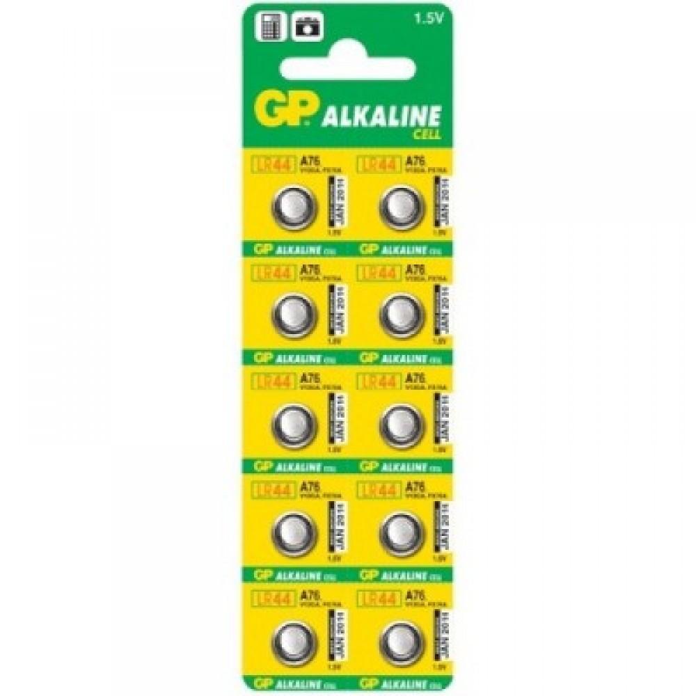 Батарейка G13 GP Alkaline 1,5V, 10 шт