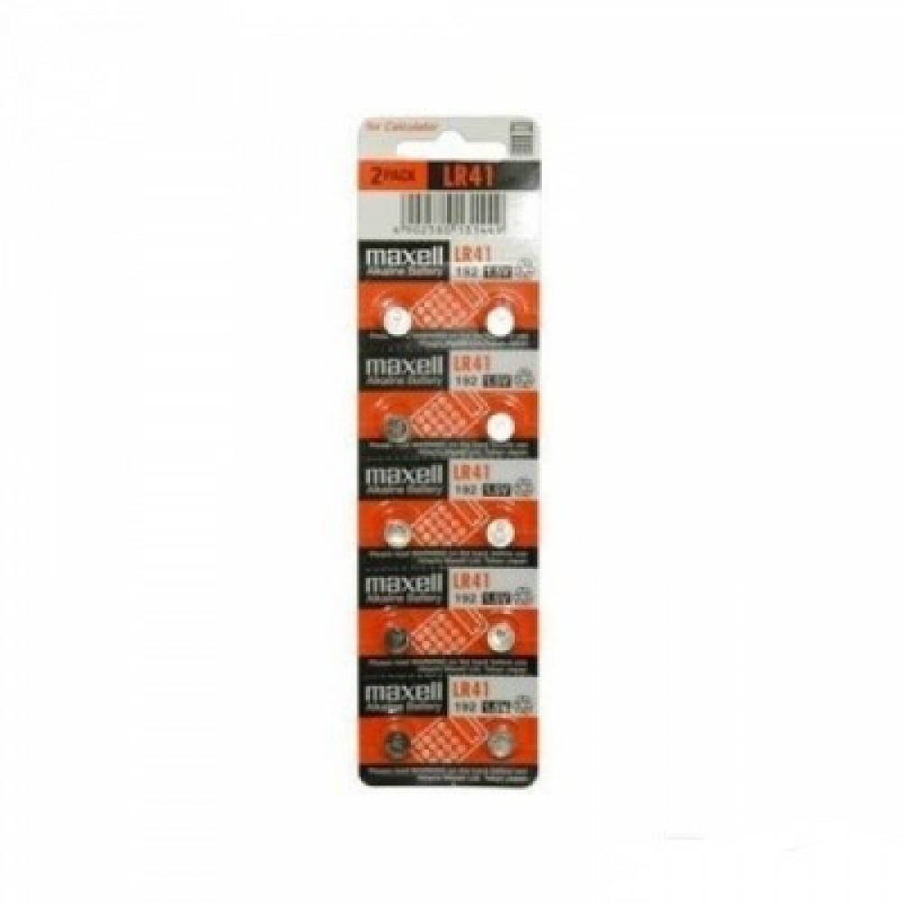 Батарейка G3 Maxell Alkaline 1,5V, 10 шт