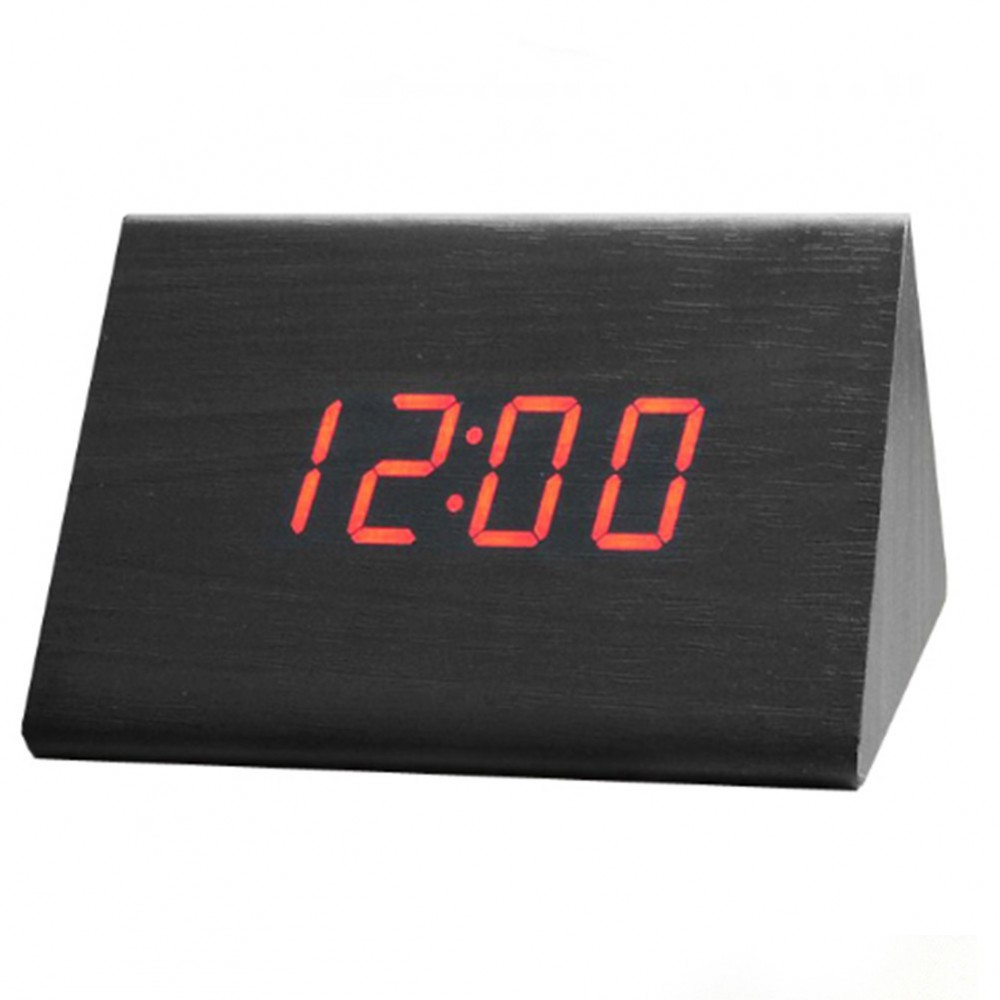 Настольные часы Led Woden Clock (VST-864-1)