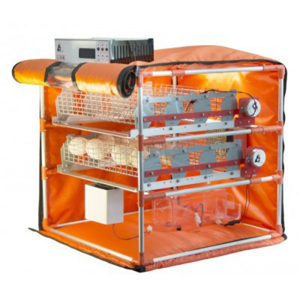 Инкубатор Mini Goose Light 56 (220V) с увлажнителем, WI-FI, автомат. лотками переворота Simpo WaterPlus 28