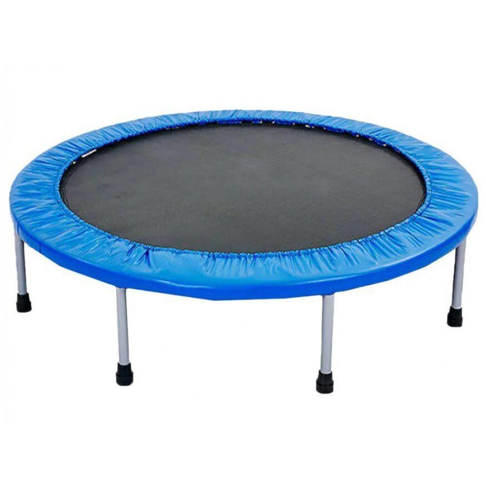 Мини-батут Atleto 102 см синий