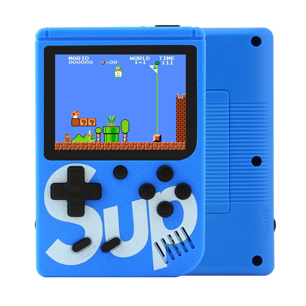 Игровая приставка Game Box sup 400 игр в 1 Blue