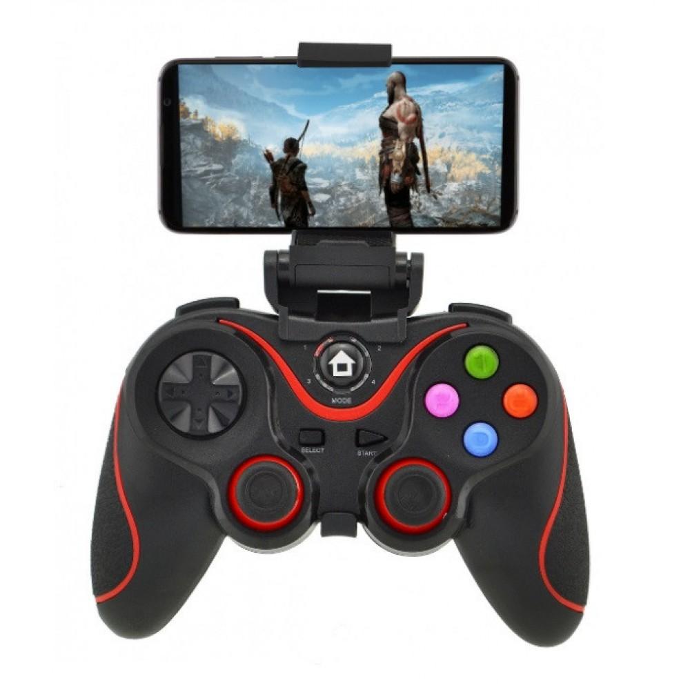 Беспроводной джойстик Gen Game V8 Black/Red 7211 Bluetooth