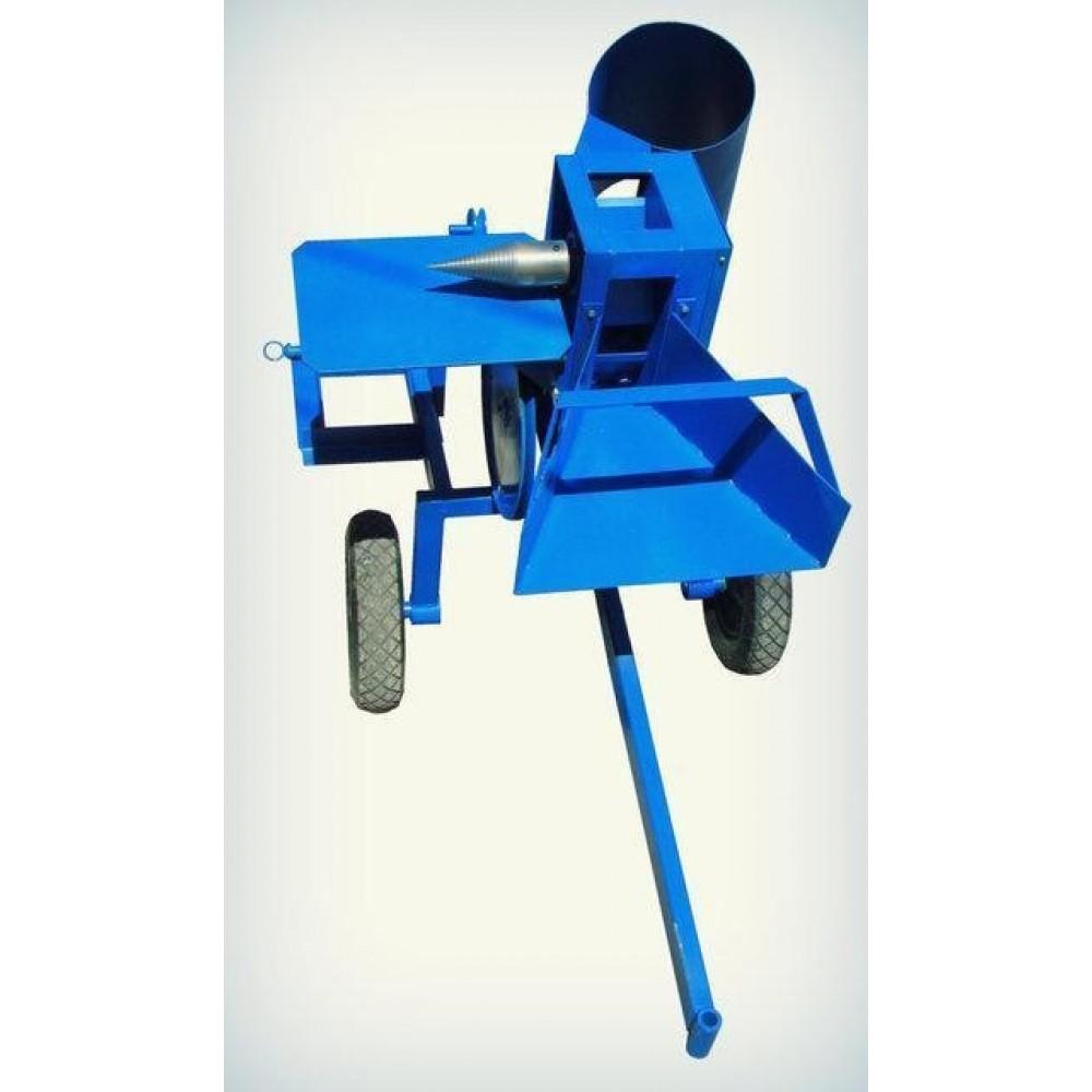 """Измельчитель веток """"Премиум"""" (без конуса) под мототрактор (диаметр до 50 мм) 1-сторонняя заточка ножей"""