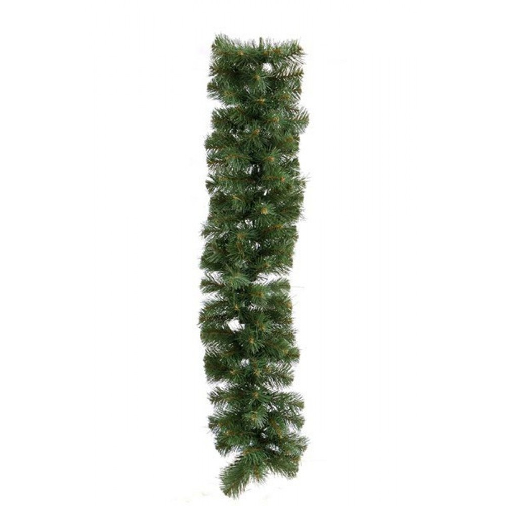 Гирлянда из хвои зеленая 2.8 метра