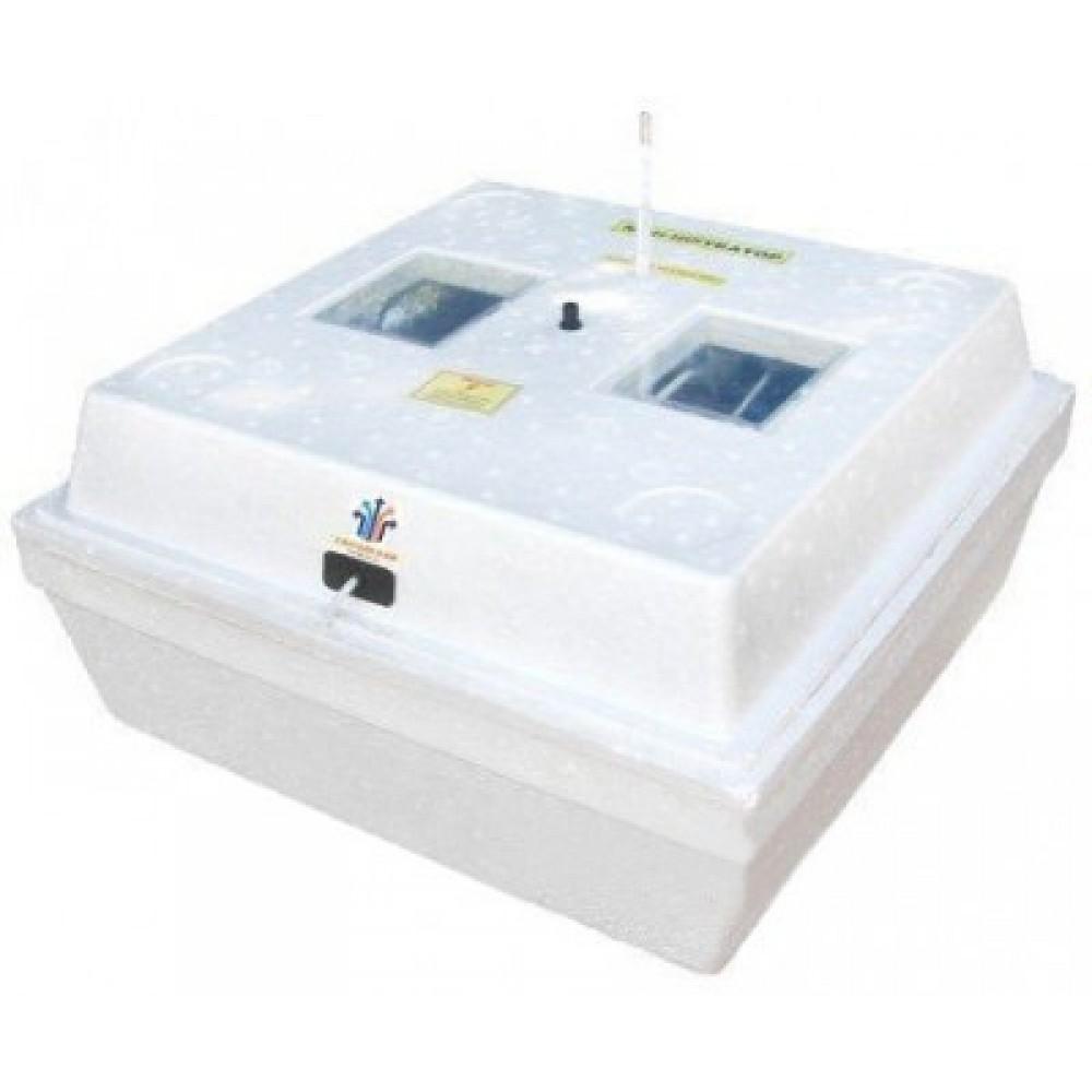 Инкубатор Утос 80 ручной переворот аналоговый терморегулятор литой корпус