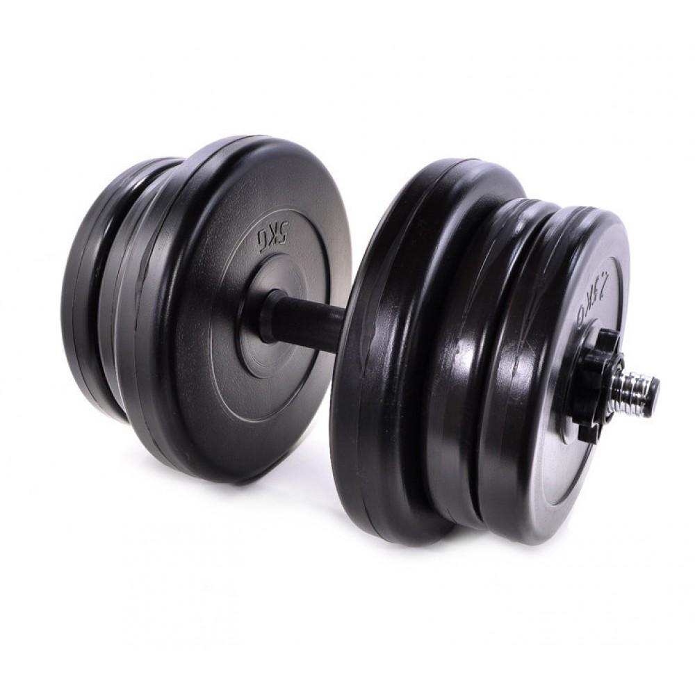 Гантель Neo-Sport - 21 кг разборная со сменными дисками