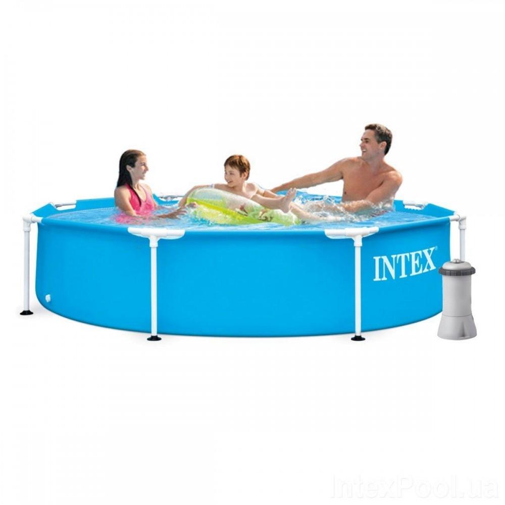 Каркасный бассейн Intex 28205-4, 244 x 51 см