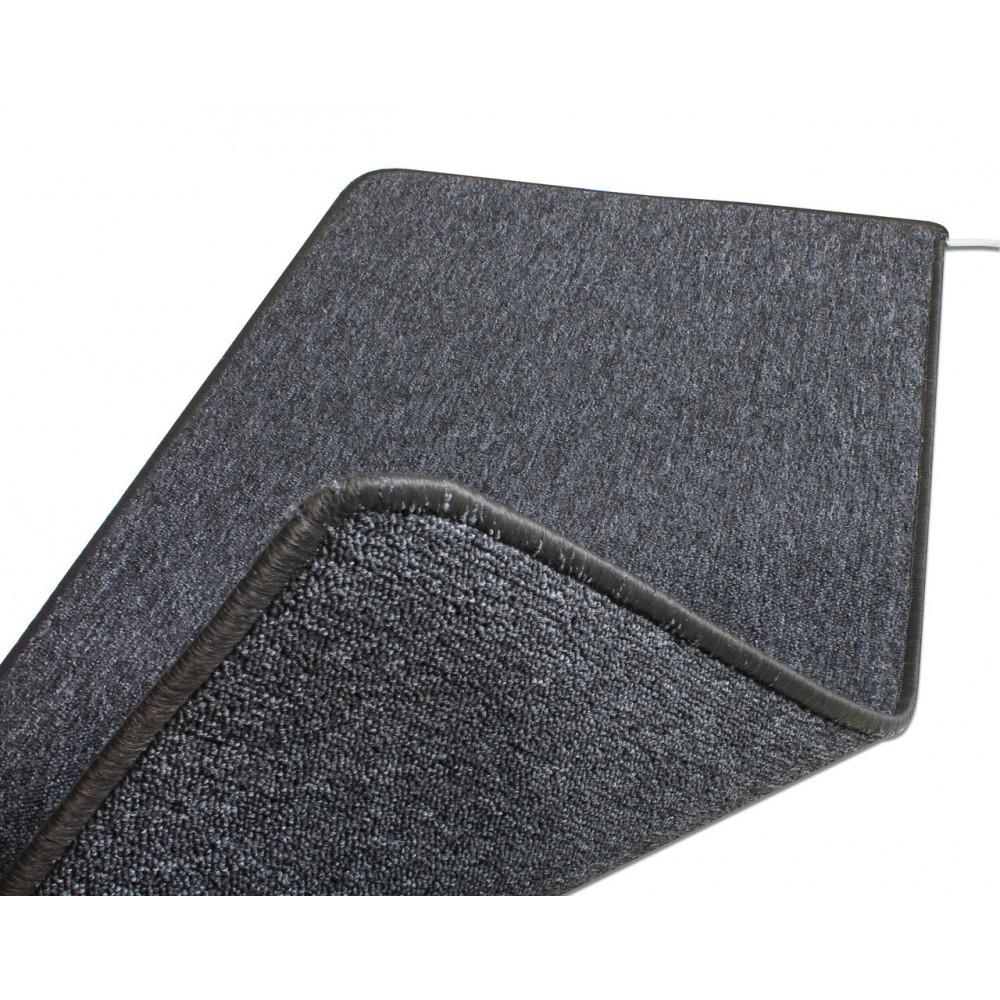 Теплый ковер 53 x 103 cм, серый, инфракрасного излучения