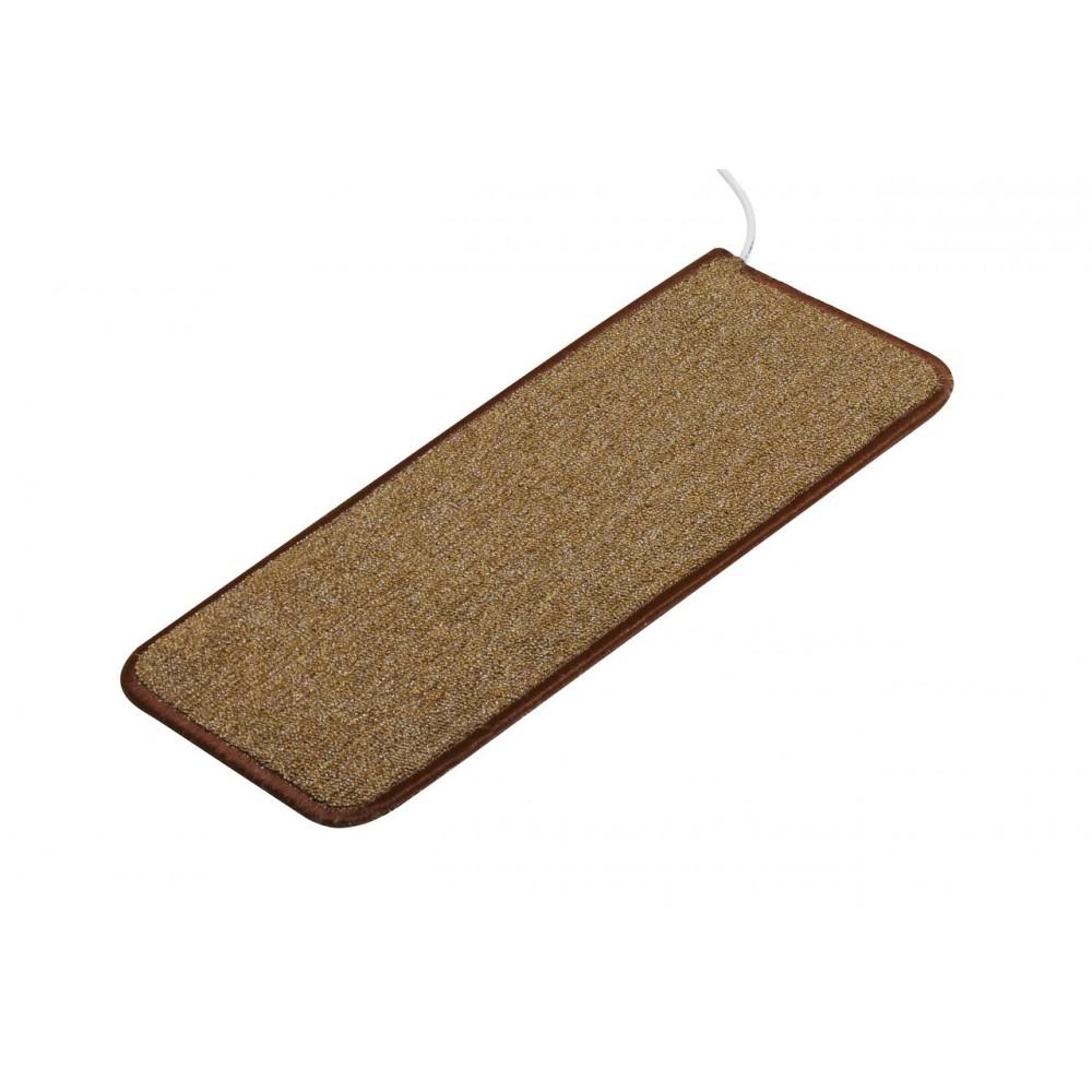 Теплый ковер 53 x 23 cм, коричневый, инфракрасного излучения