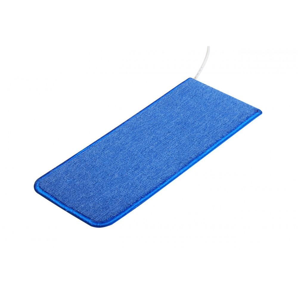 Теплый ковер 53 x 23 cм, синий, инфракрасного излучения