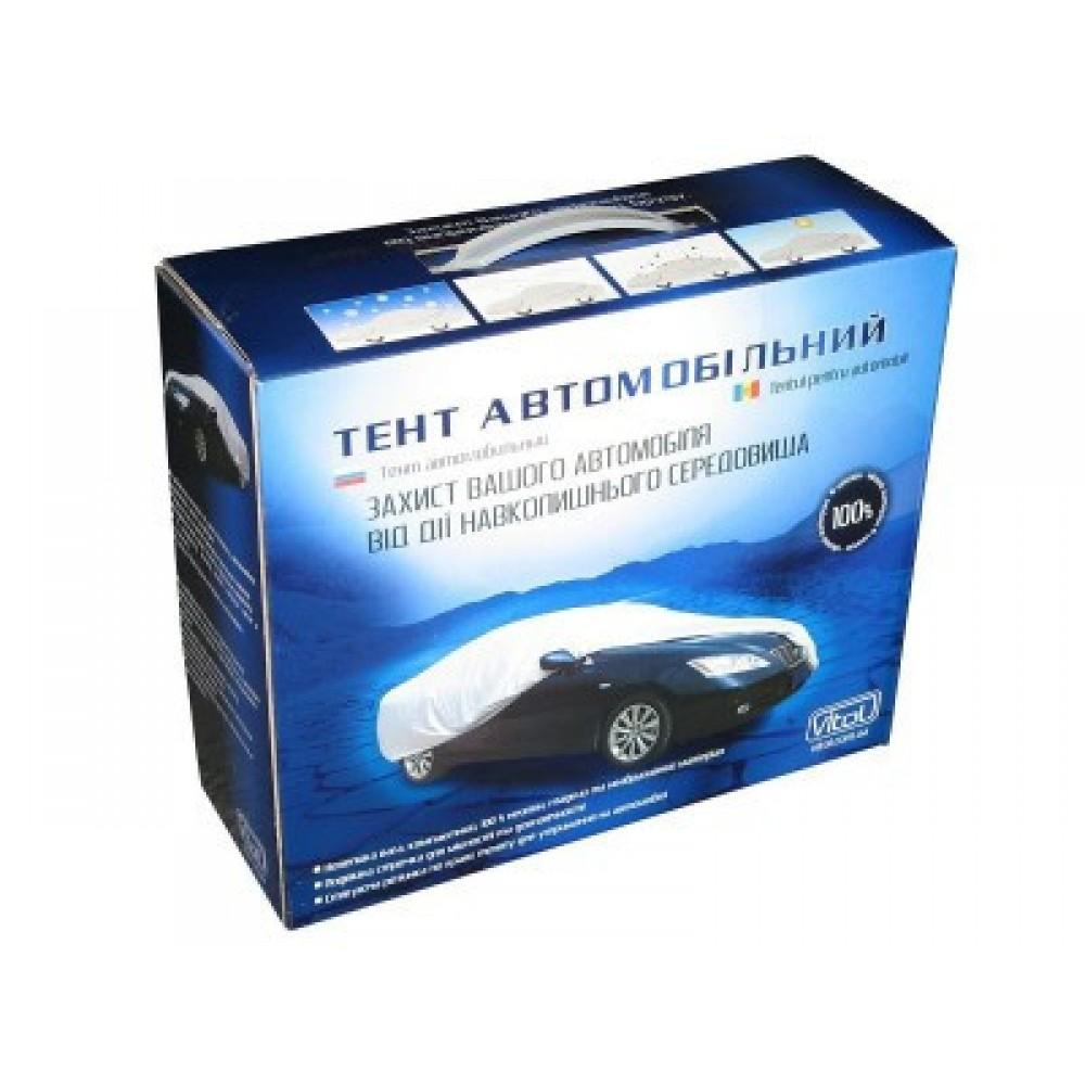 Тент на машину седан Vitol CC11105 S нейлон 406x165
