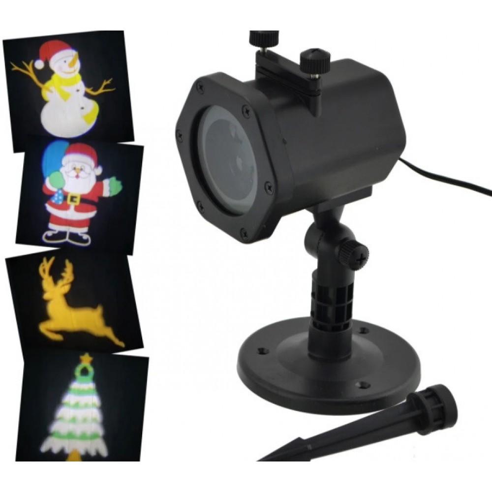 Лазерный проектор Star Shower XL-805 танцующие картинки 6735