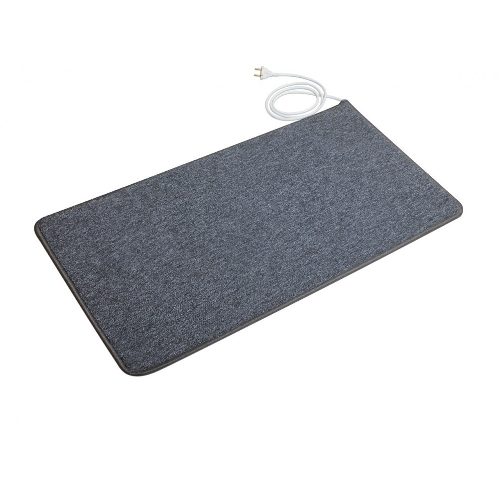 Теплый ковер 53 x 83 cм, серый, инфракрасного излучения
